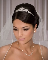wedding veils and tiaras online
