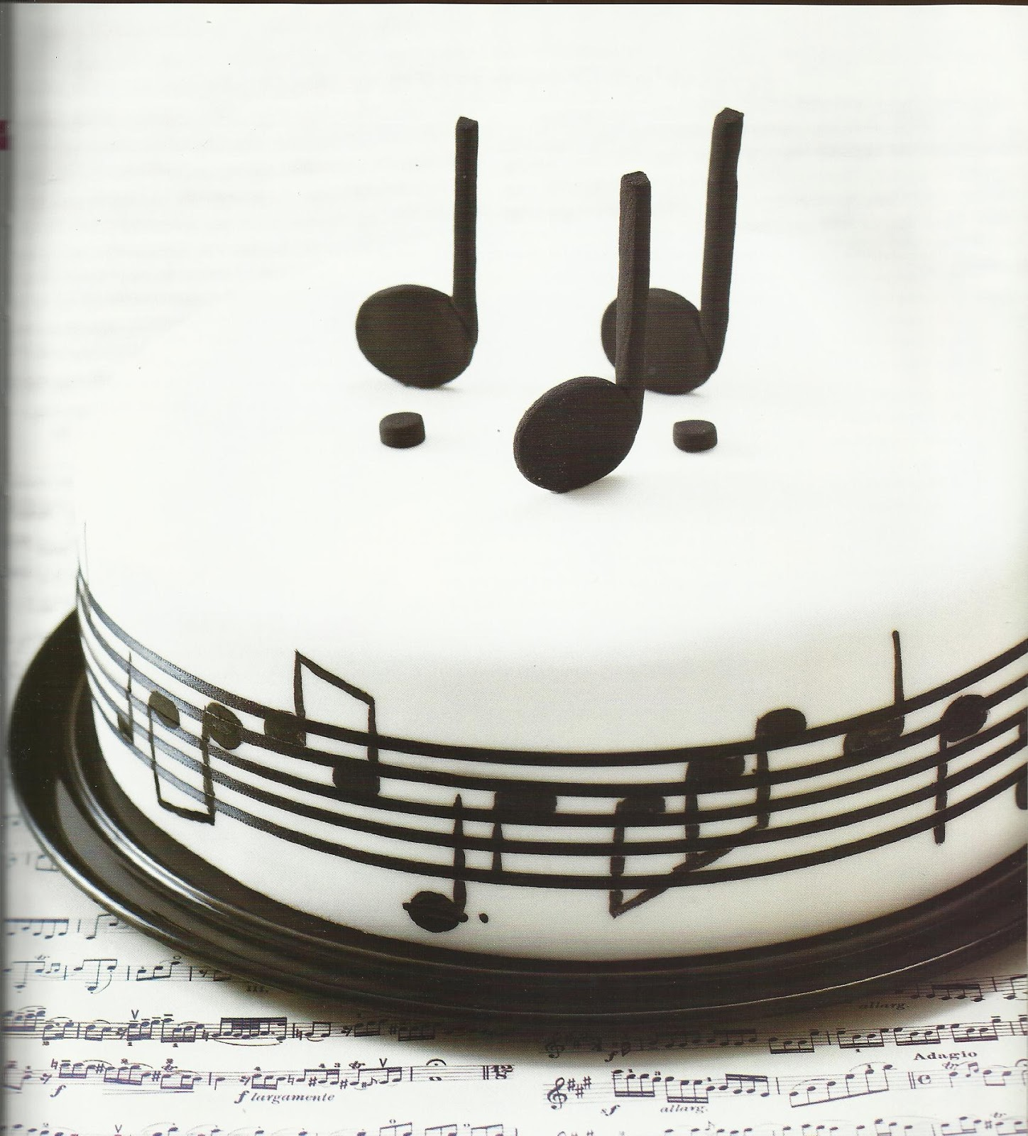 Cake Decorations Musical Instruments : The Cakes Mania: Birthday Cakes