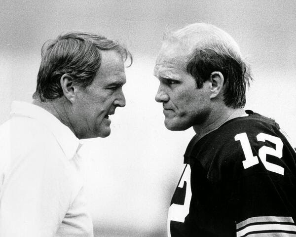 chuck noll terry bradshaw day feud