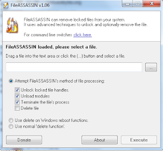 FileASSASSIN 1.06:A free malware file remover from Malwarebytes