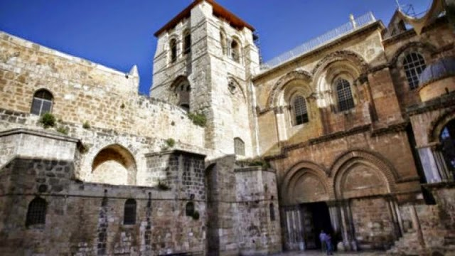 gereja makam kudus israel