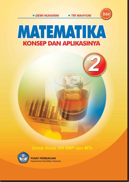 Free Ebook Matematika 2 Untuk SMP Kelas 8
