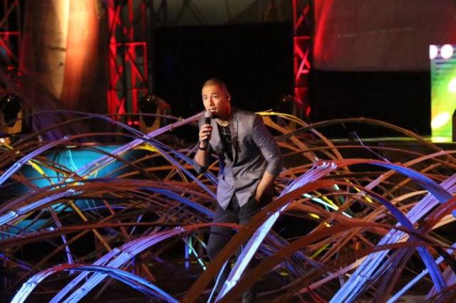 Jazz Pantai Banyuwangi 2015 menampilkan Marcell.