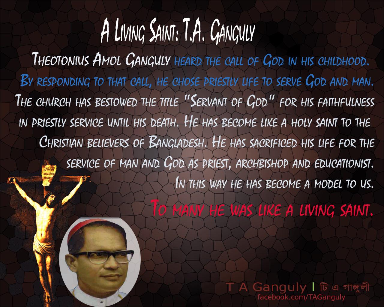 Living Saint Amol Ganguly