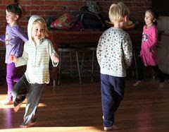 Improvisation Dance Games for Children