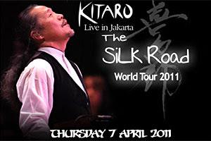 Kitaro Akan Mengadakan Konser di Jakarta