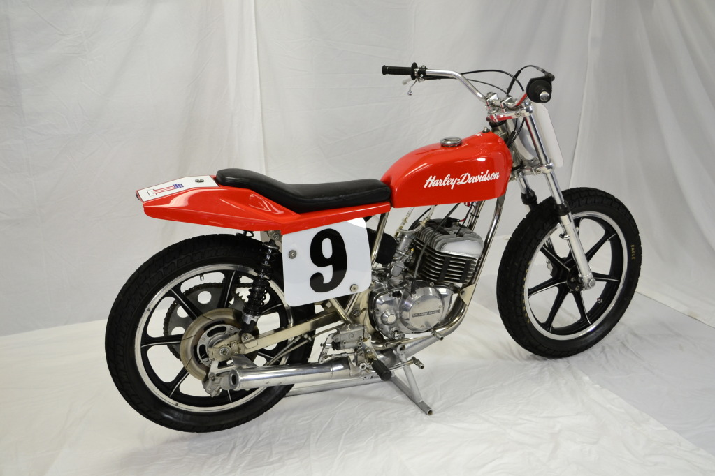 1977 Harley Davidson Flat Track Racer Right View