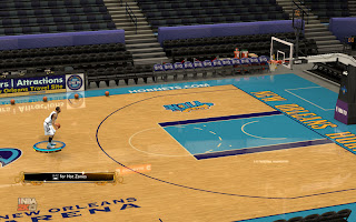 NBA 2K13 30 Teams Floor Pack - Reflections Mod