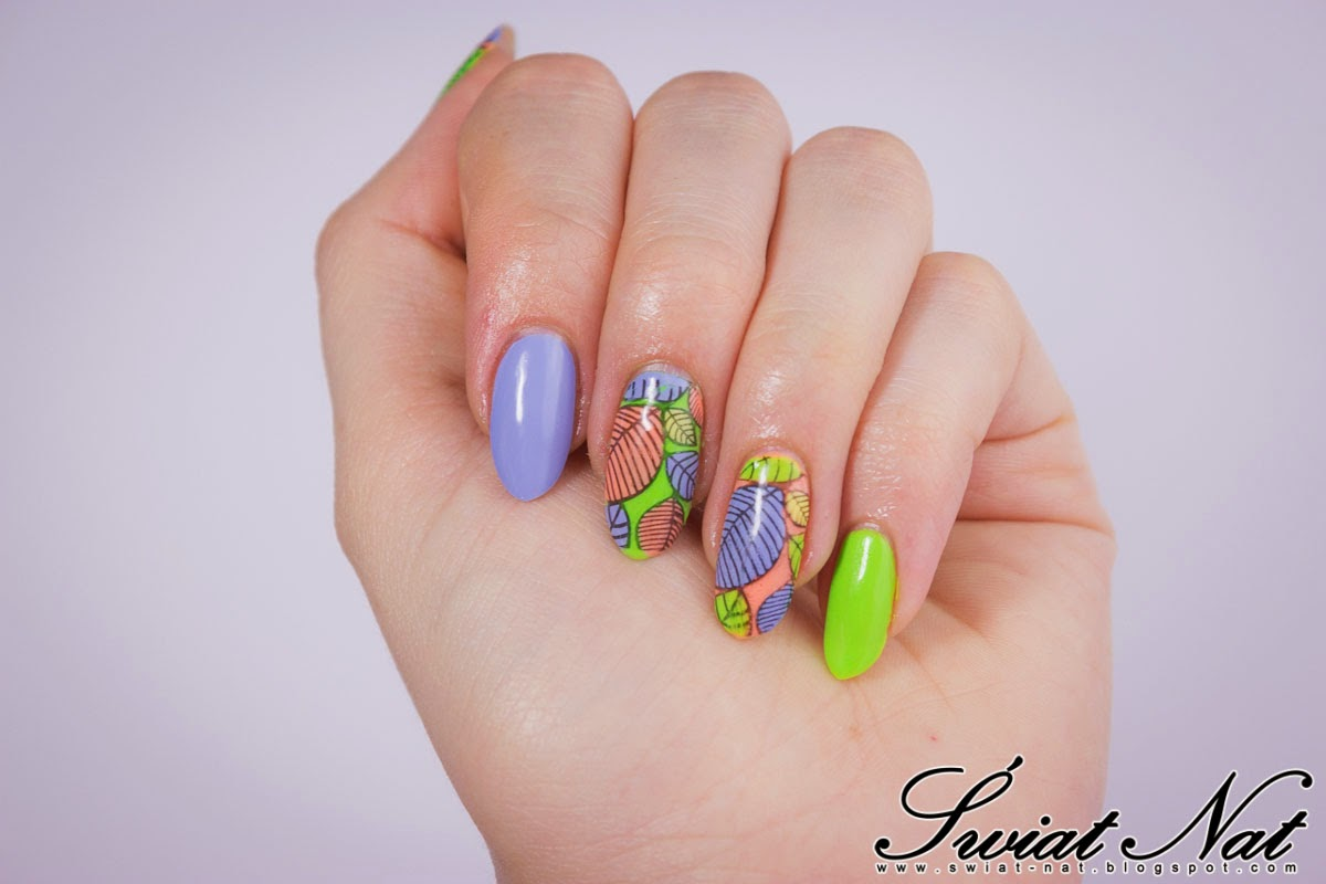 selective rich color stemple stamping naklejki