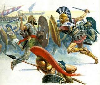 La victoria de Esparta señaló el fin del poder de Atenas. Los antiguos aliados de Delfos, a quienes se había prometido la libertad, cambiaron de dueño solamente.
