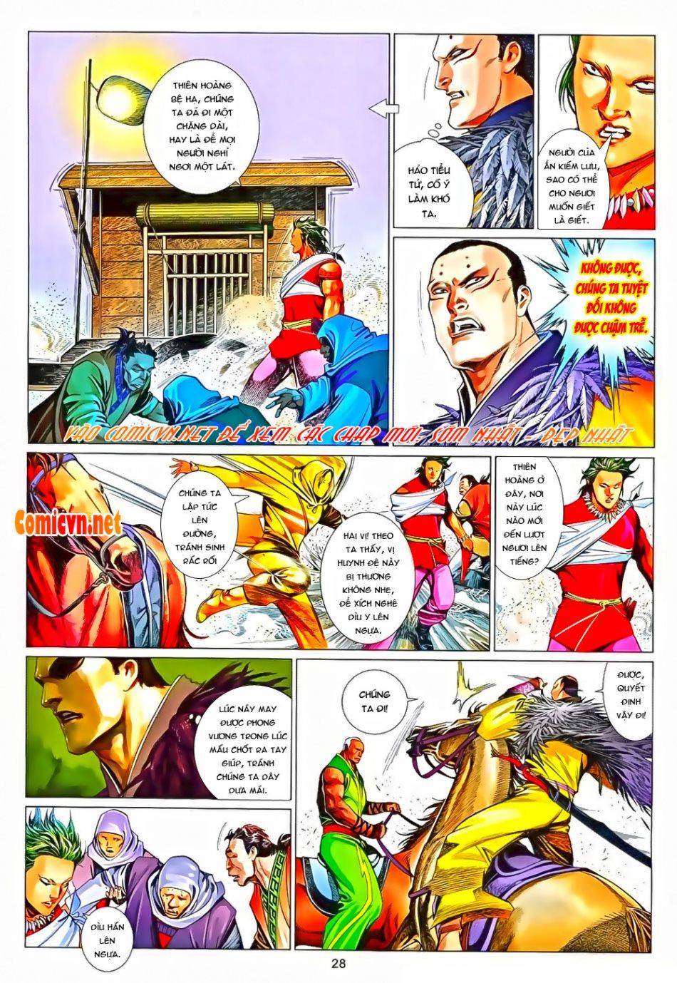 Phong Vân chap 650 Trang 28 - Mangak.info