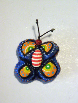 mariposa fieltro