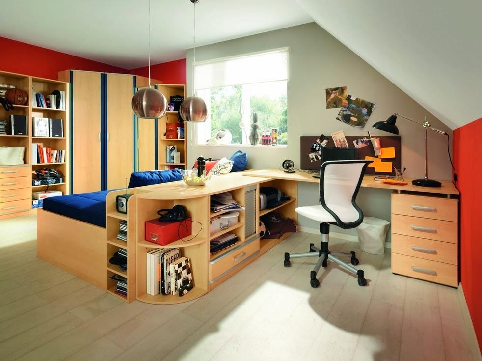 Dise os de dormitorios para adolescentes modernos for Cuarto para jovenes