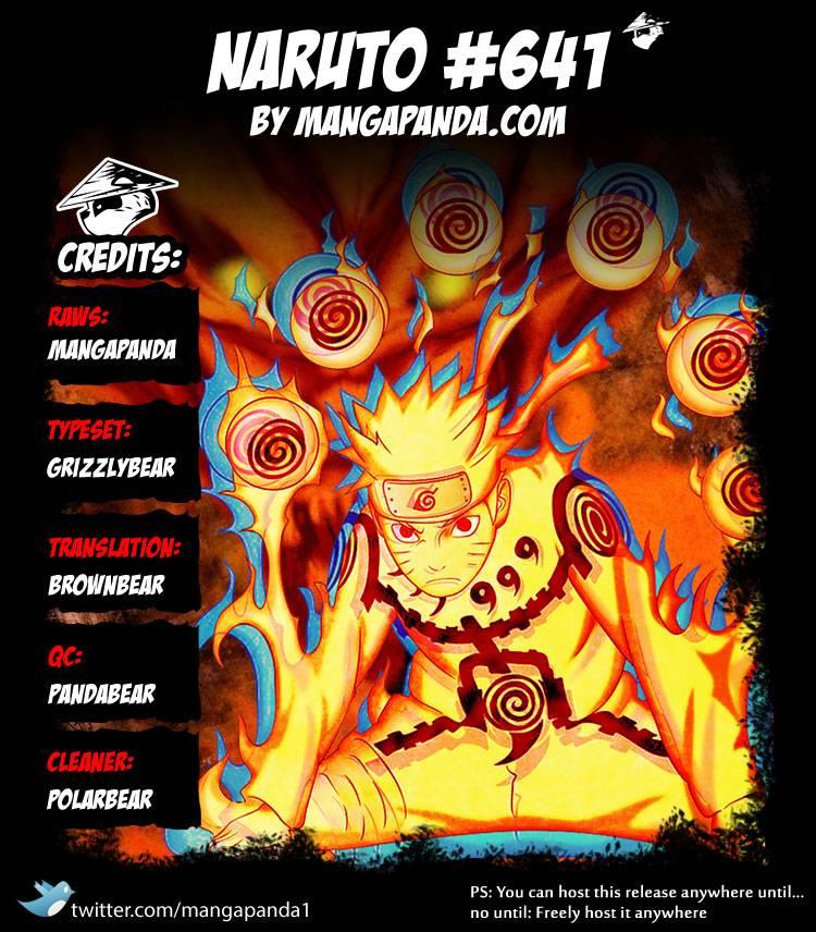 Naruto 641 - Page 1