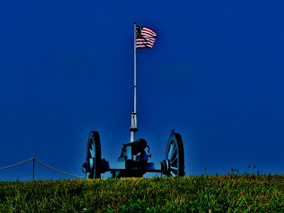 Flag & Cannon
