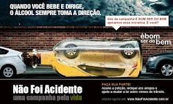 Você pode ajudar ATIVAMENTE a mudar nossa lei e acabar com a impunidade no trânsito brasileiro.
