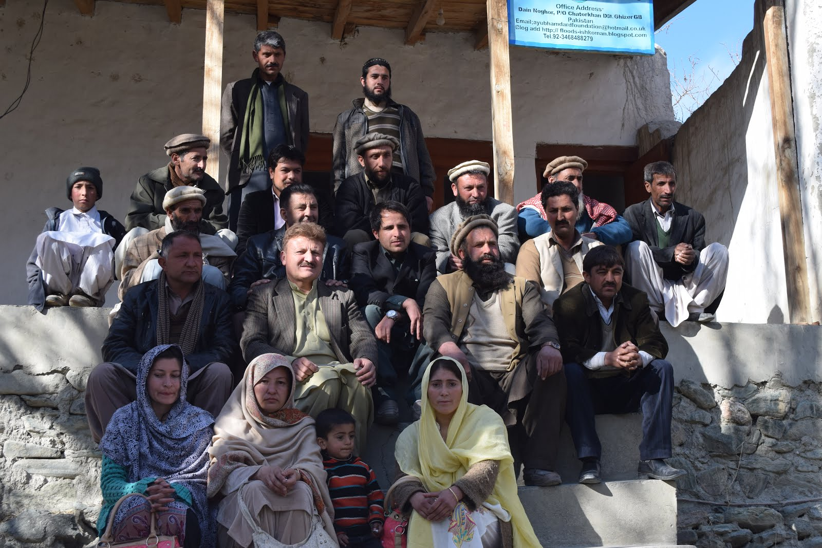 AHF STAFF GROUP PHOTO WITH MAGISTRATE KHALID SAB
