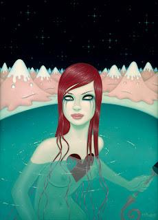 Cartel por Tara McPherson.