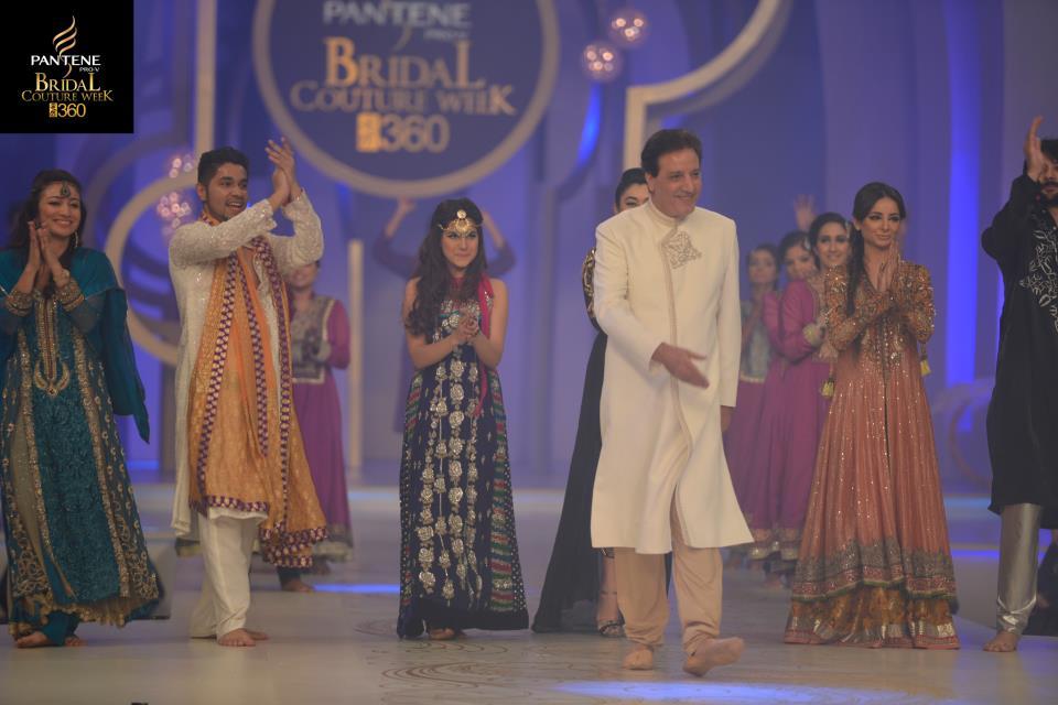 Pakistani Drama Celebrities Walked on Ramp at Pantene Bridal Couture