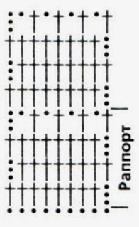 Галстук для мальчика крючком Схема Описание