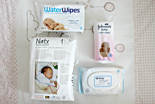 Naty Nappies, Water Wipes, Nappy Sacks, Cotton Wool