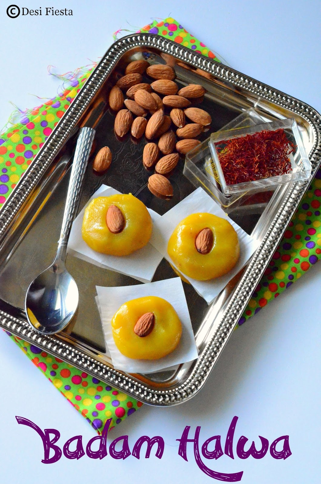 Badam halwa recipe ` diwali recipes