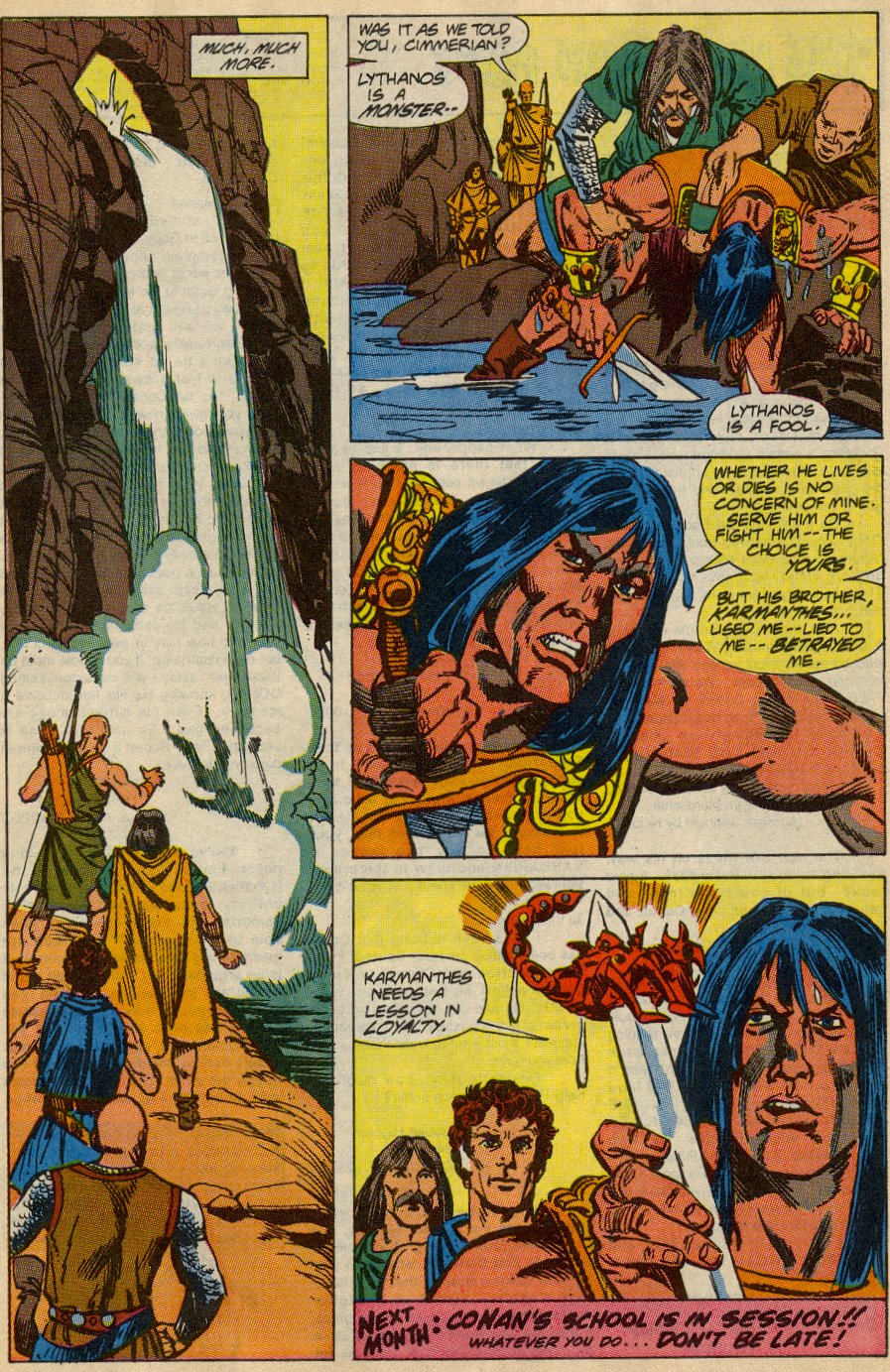 Conan the Barbarian (1970) Issue #230 #242 - English 23