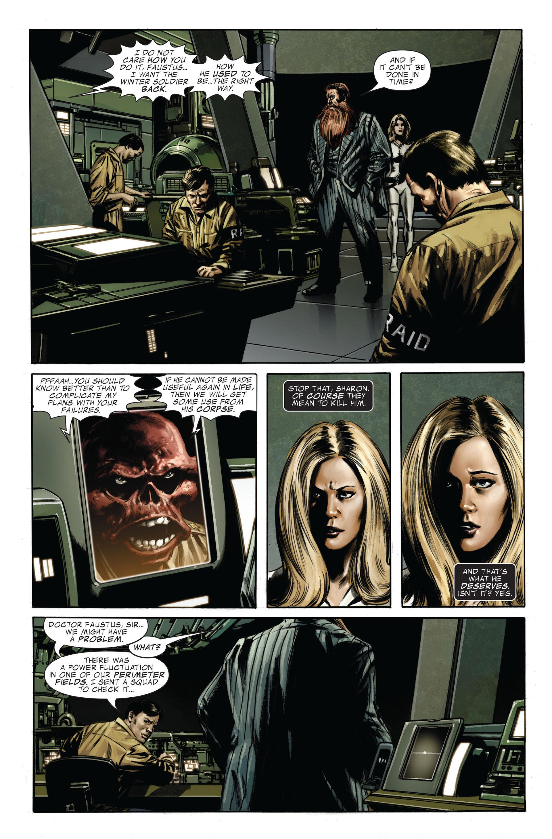 Captain America (2005) Issue #32 #32 - English 9