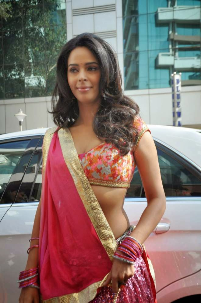Mallika Sherawat Sexy Lehenga Choli Photo