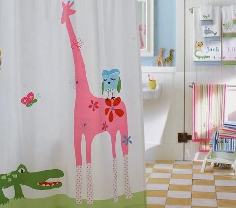 Muebles y decoraci n de interiores cortinas de ba o para - Muebles de bano para ninos ...