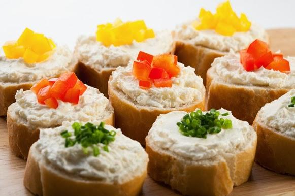 Fome de qu copa 6 ideias de petiscos saud veis for Canapes para o natal