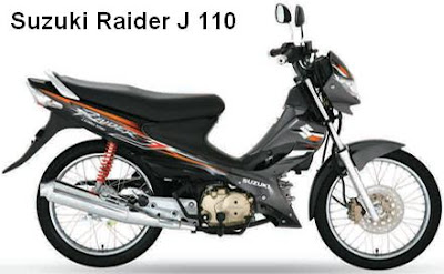 Suzuki Raider J - Specs, Prices and Colors | Motorcycles and Ninja