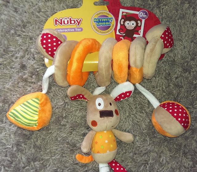 Nuby Spiral Toy