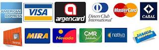 Tarjetas de credito nacionales