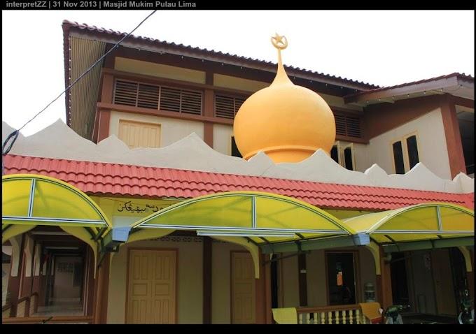 Masjid Mukim Pulau Lima, Pasir Puteh, Kelantan