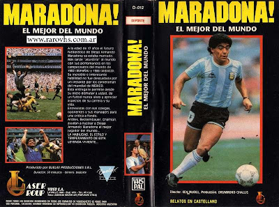 Maradona el mejor del mundo