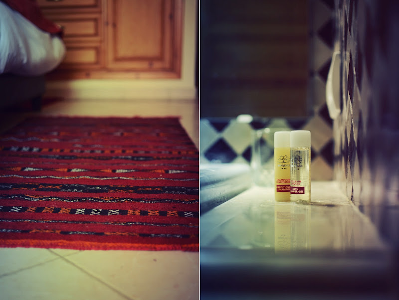 details from the hotel room in marrakesh