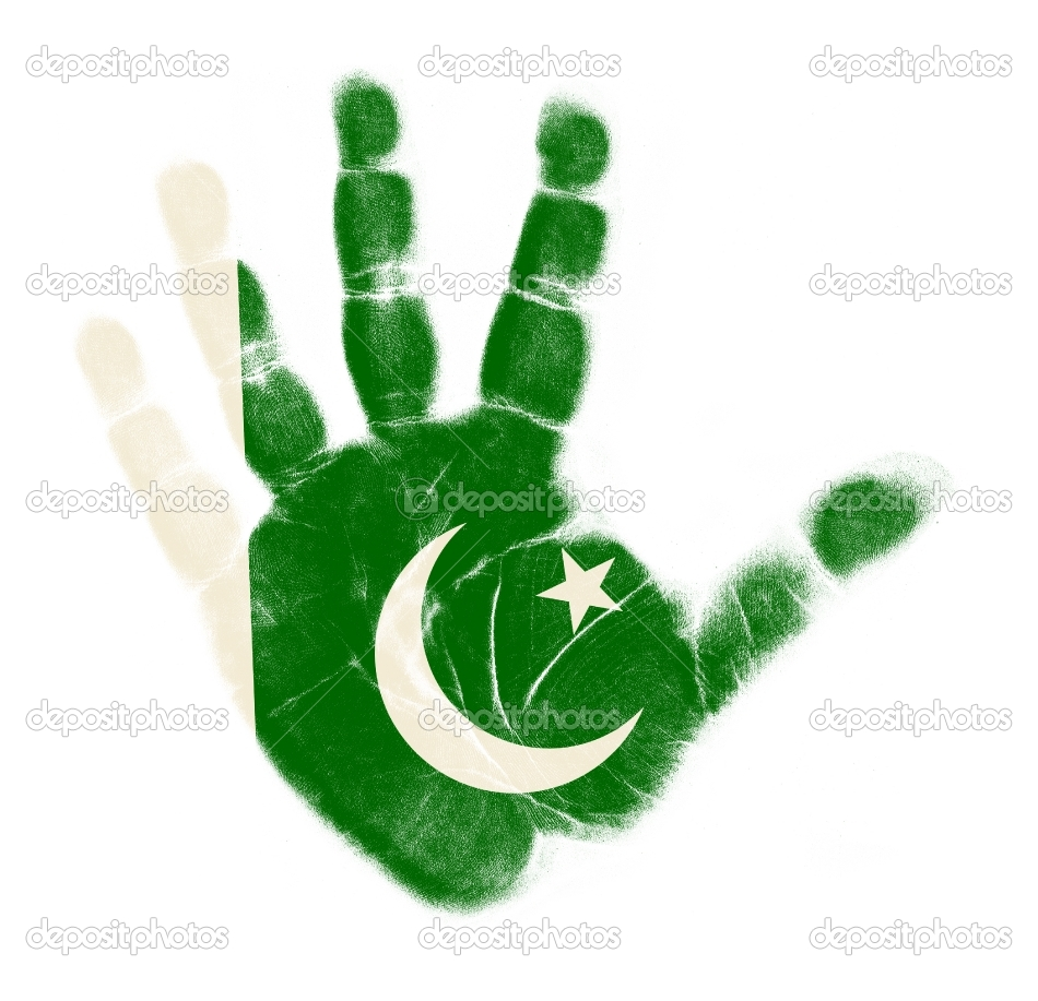 uzair hashmani: pakistan flag