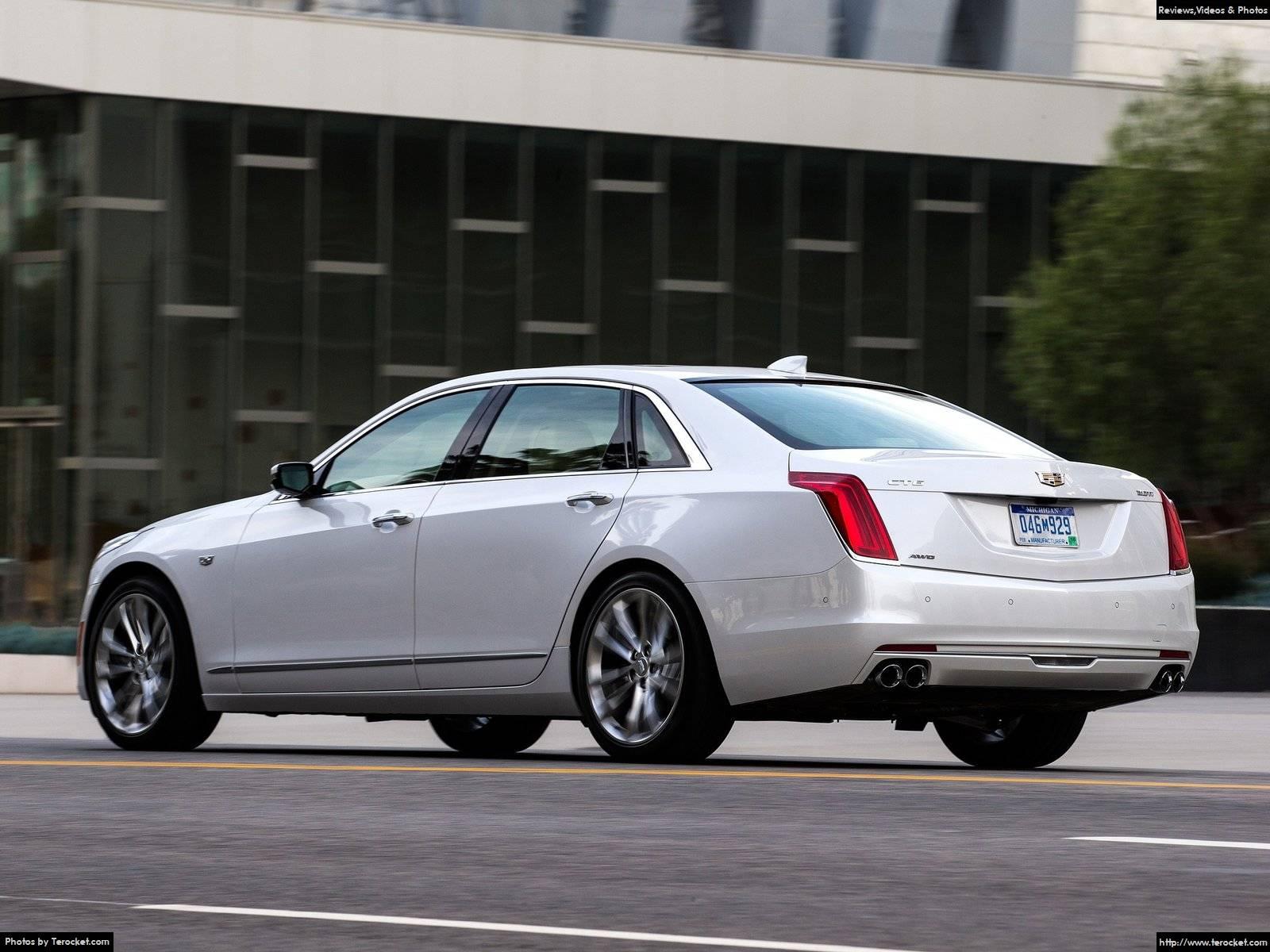 Hình ảnh xe ô tô Cadillac CT6 2016 & nội ngoại thất