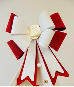 manualiades para la decoracion navideña, manualidades navideñas, manualidades para la decoracion de navidad, manualidades de navidad, adornos de navidad, adornos para navidad, adornos para decoracion de navidad, adornos para el arbol de navidad, moños para el arbol de navidad, moños de papel para el arbol, moños de papel para decorar el arbol de navidad, aprender a hacer moños para el árbol de navidad, como hago moños bonitos para el árbol