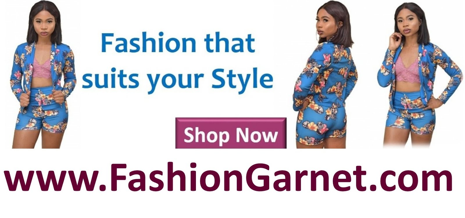 Shop Now At Fashion Garnet