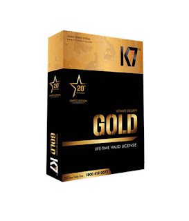 Buy K7 Ultimate Security Gold For Life Time Limited Edition at Rs.1264 only
