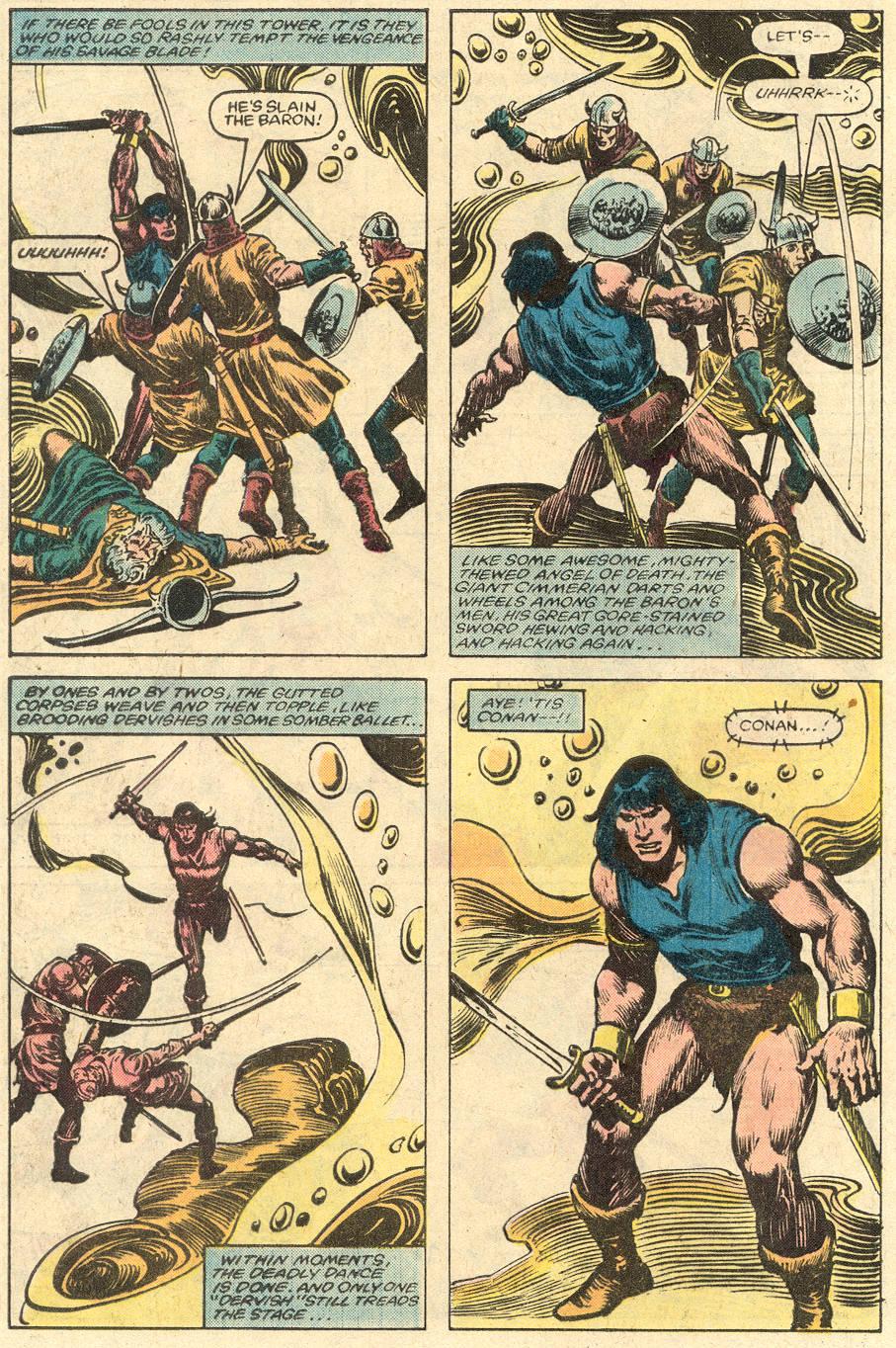 Conan the Barbarian (1970) Issue #150 #162 - English 21