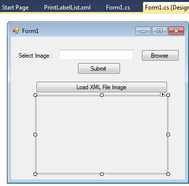 Image Save In XML and Load XML Bitmap Image File in Windows