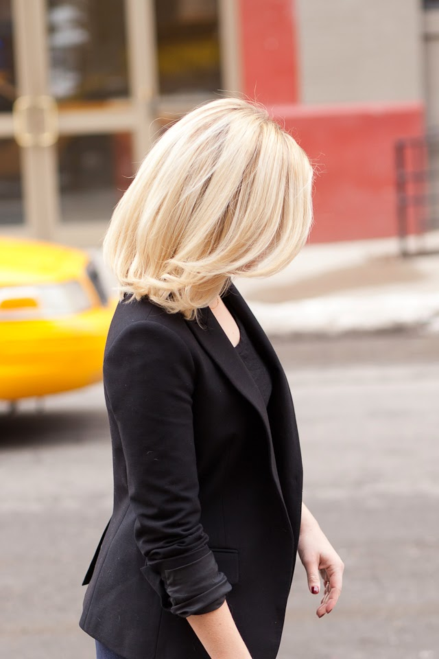 medium length shoulder length blonde hair inspiration