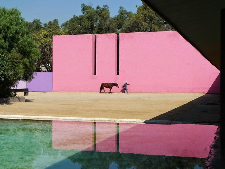 pink architecture, pink interior, pink interior design, inspirations