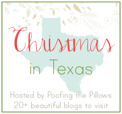 Christmas in Texas Blog Hop Poofing the Pillows
