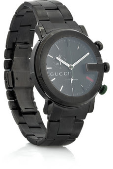 Gucci Chrono PVD watch