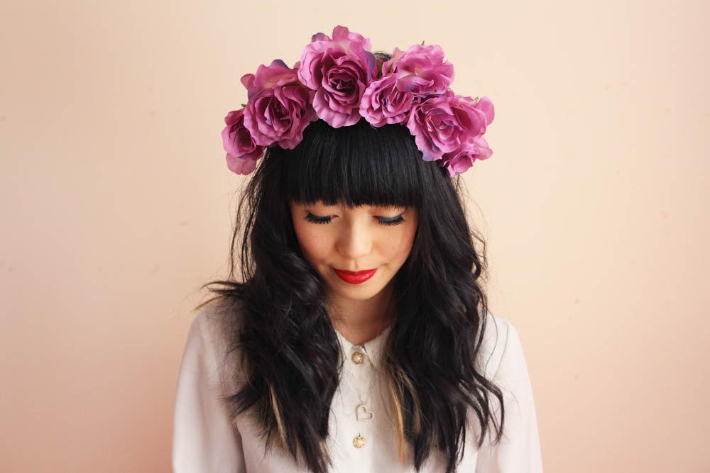 Coronas de flores, moda para tu cabeza Belleza y Moda