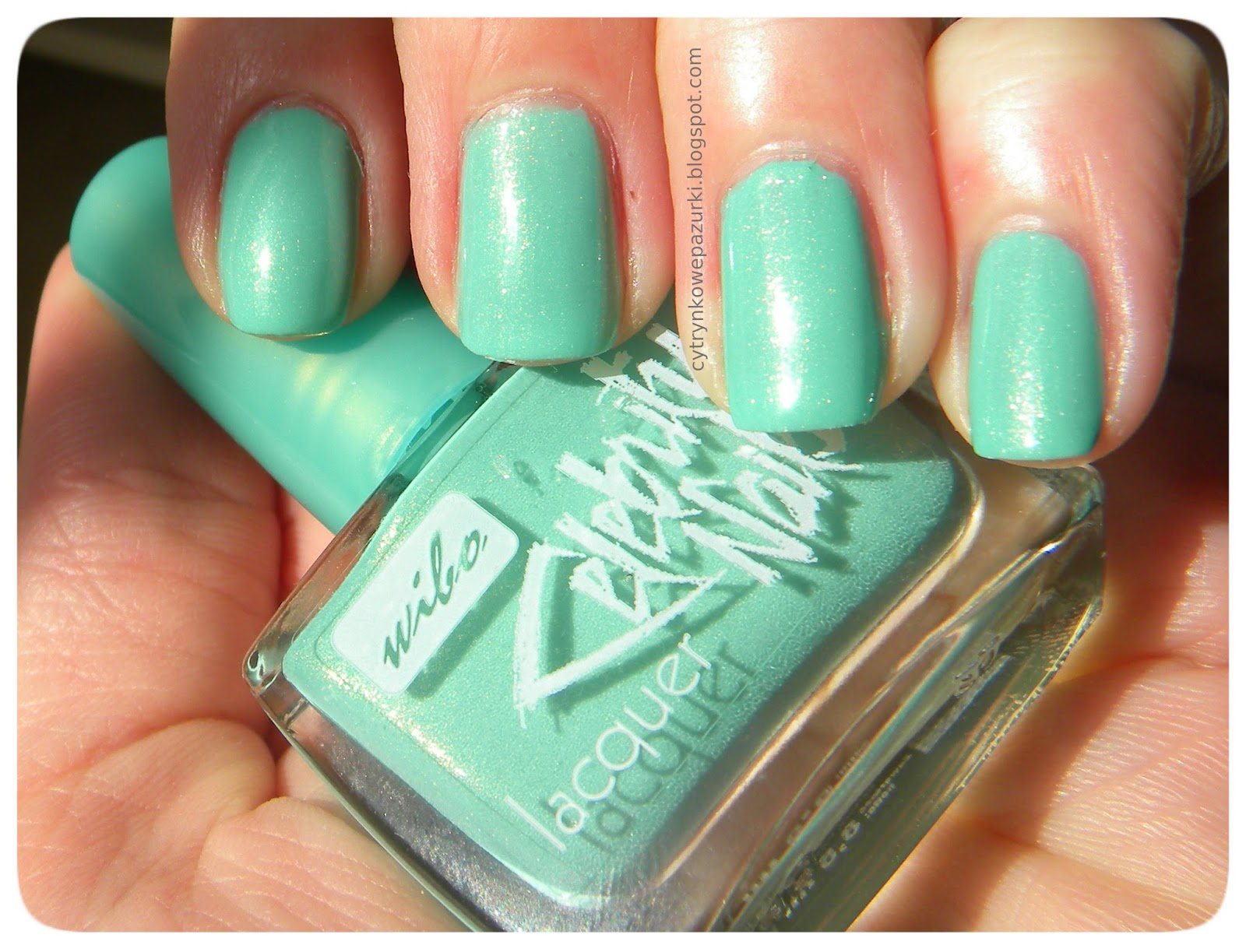 Wibo Celebrity Nails nr 8 Mint Project